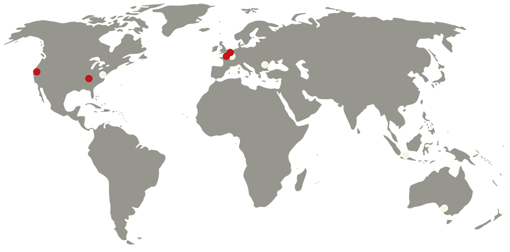 Staff Member Locations