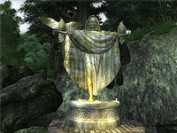 Nocturnal's statue in Oblivion