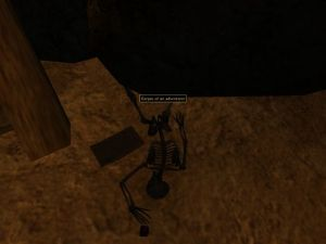 Indiana Jones As Seen In Morrowind