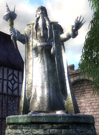 Statue of Galerion the Mystic