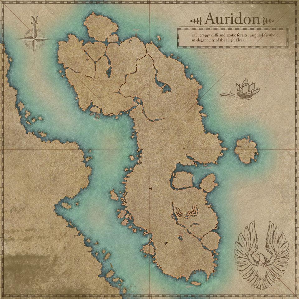Summerset Isles Map