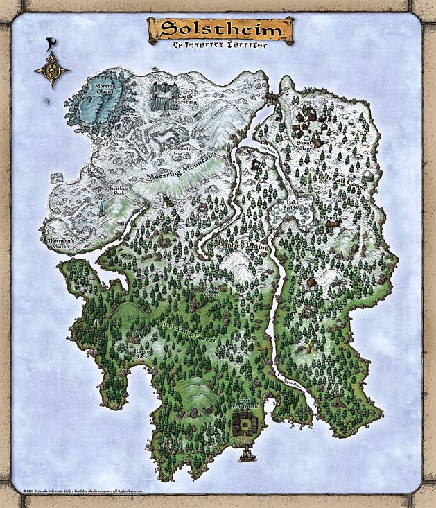 Solstheim Map   Official | The Imperial Library