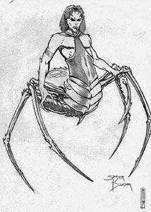 Spider Daedra Concept Art