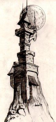 Tower Concept Art