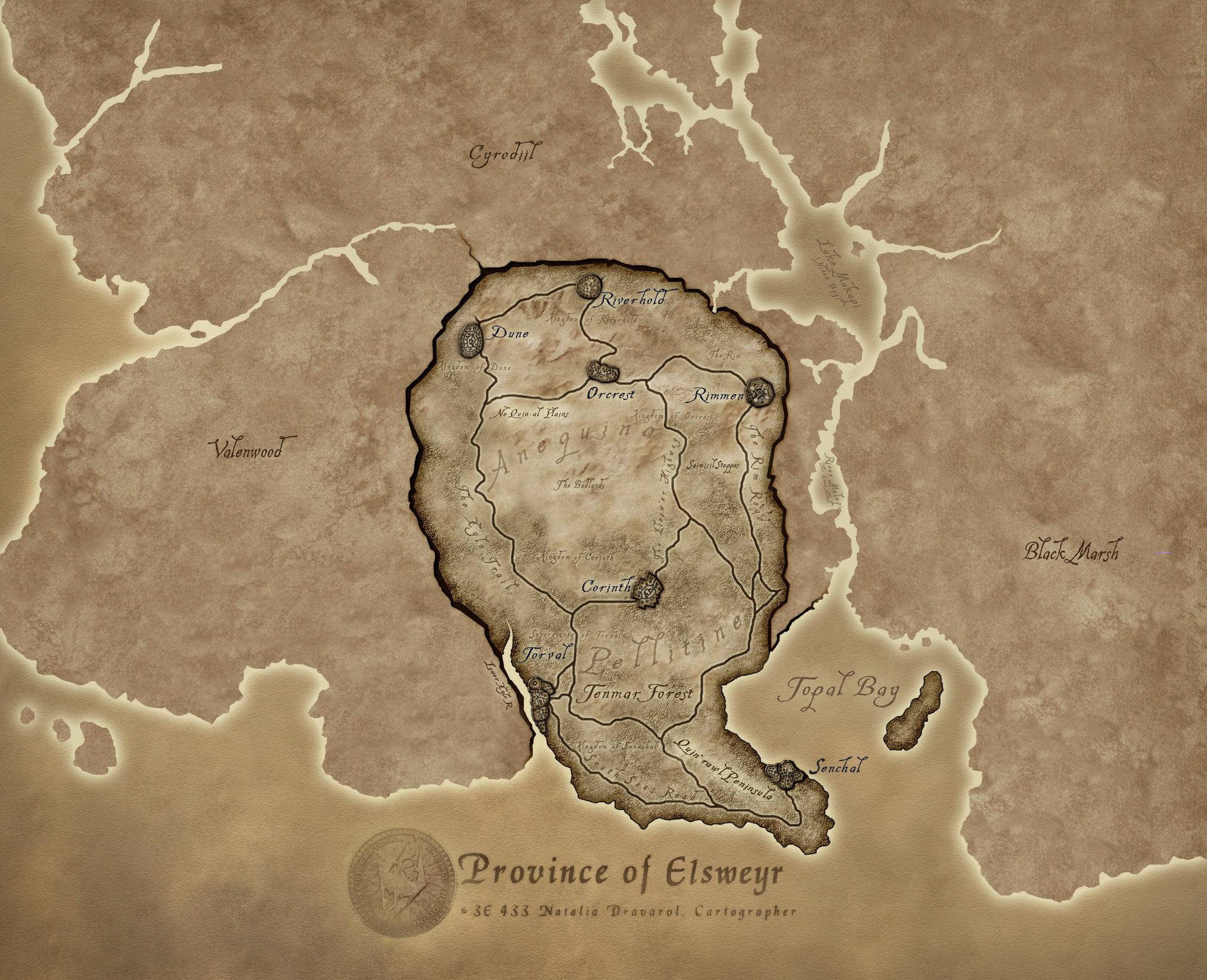 Looking for Elder Scrolls maps to buy : ElderScrolls