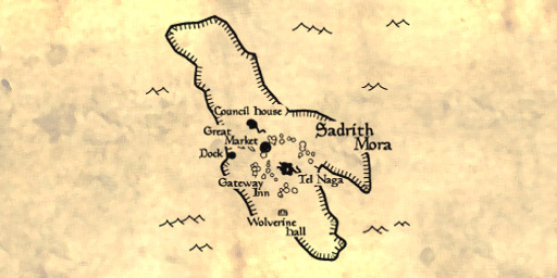 Map of Sadrith Mora