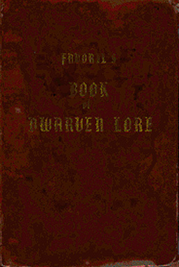 Book of Dwarven Lore Cover