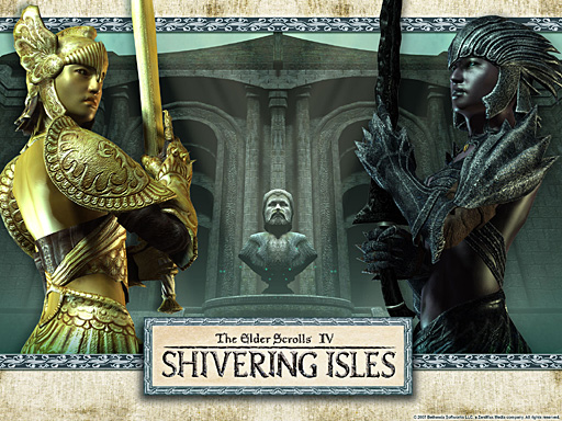The Story Of Shivering Isles The Imperial Library