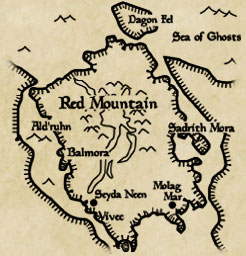 Map of Vvardenfell