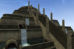 Vivec's Palace, an example of the Metroplitan style